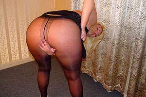 Pity, that amateur mature in pantyhose pictures think, that
