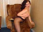 topless milf in pantyhose